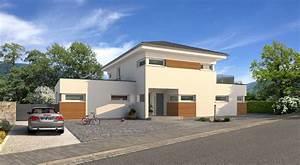 Haus Walmdach Modern : einfamilienhaus bauen mit streif ~ Lizthompson.info Haus und Dekorationen