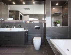 australian home interiors bathroom in a display