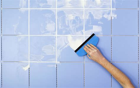 how to grout floor tile tips for using a rubber grout float