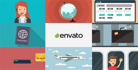 Travel Agency Advert Videohive Free Download After Effects Template by Travel Agency Promo By Satforce Videohive