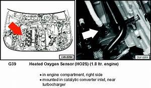 I Am Changing The Post Cat O2 Sensor On My 2003 Vw Passat