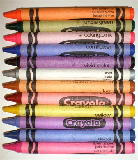 crayola color names crayola crayon colors