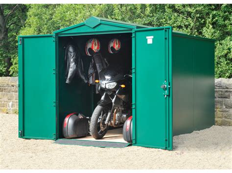 cycle storage sheds secure motorcycle storage shed 10ft 11 quot x 5ft motorbike