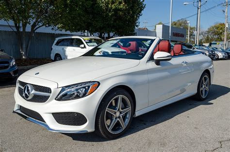 Sedan, coupe and convertible (cabriolet). New 2017 Mercedes-Benz C-Class C 300 4MATIC® Cabriolet Convertible in Louisville #M16117 | Tafel ...