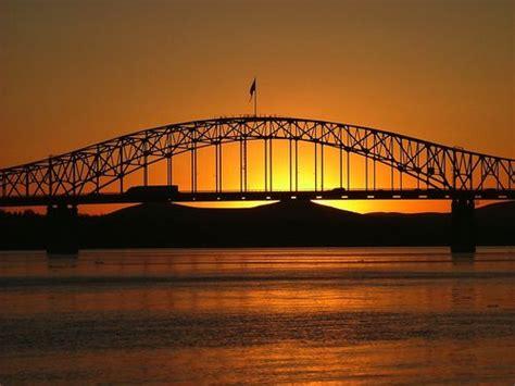 Blue Bridge - Sunset Tri Cities Washington! | Washington ...