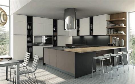 cuisine moderne bois clair plan de travail cuisine moderne en et bois