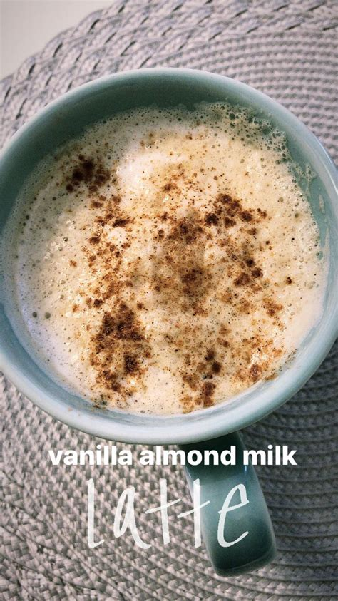 A hot mug of coffee isn't just any drink for most of us—it's the. Who needs dunkin when you can make an easy healthy latte at home! 1 cup of coffee 1/4 cup of alm ...