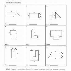 53 Area Of Compound Shapes Worksheet, 17 Best Images About Area Of Polygons On Pinterest Math
