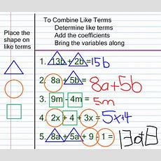 Miss Kahrimanis's Blog Combining Like Terms