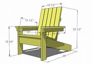 9 Steps and $20 - A Child's Adirondack Chair - Woodwork