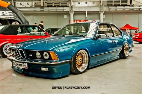 Bmw E24 M6 by E24 M6 Gold Bbs Bmw Mpower