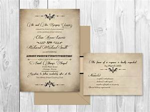 printable elegant scroll wedding invitations vintage With free printable scroll wedding invitations