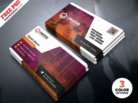 Cards Templates by Creative Business Card Template Psd