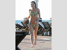 MYLEENE KLASS in Bikini at a Pool HawtCelebs