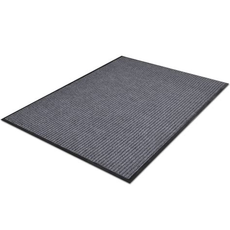gray pvc door mat 2 9 quot x 1 9 quot vidaxl