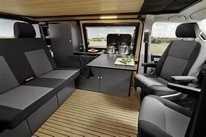 Interior Custom-Bus Volkswagen T6 Camper '2017–pr