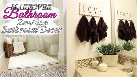 Spa Bathroom Decor Ideas  Zen Bathroom Youtube