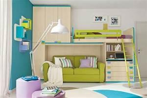 Hochbett Mit Sofa : hochbett mit schreibtisch funktionale betten finden ~ Watch28wear.com Haus und Dekorationen