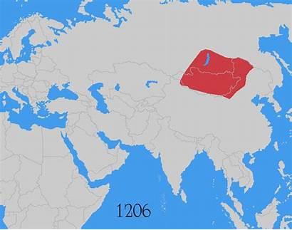 Dynasty Yuan Empire Map Mongol China History
