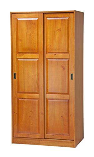 Solid Wood Wardrobe Closet by 100 Solid Wood 2 Sliding Door Wardrobe