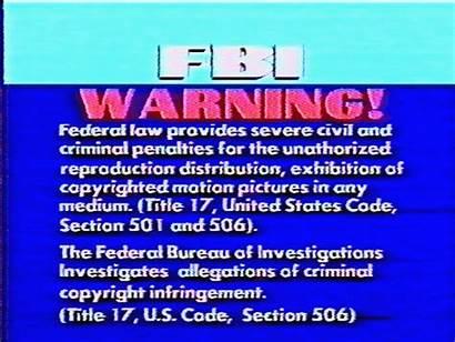 Fbi Warning Vhs Glitch Corvette Backfire Animated