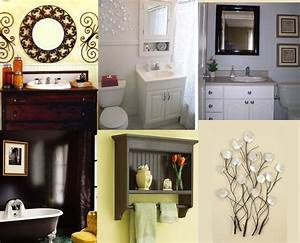 Must have items for your bathroom for How to decorate a bathroom wall