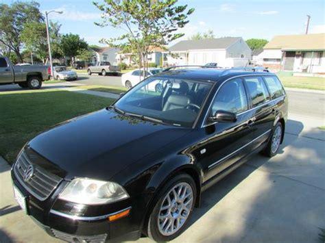 Buy Used 2004 Volkswagen Passat W8 In Lakewood, California