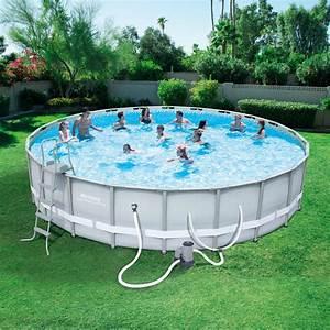 Bestway Pool Set : bestway 22 39 x 52 39 39 round power steel frame pool set shop your way online shopping earn ~ Eleganceandgraceweddings.com Haus und Dekorationen