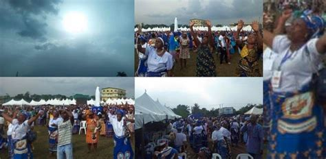 Virgin Mary Appears In Edo State Nigeria During Catholic