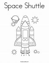 Coloring Space Shuttle Built California Usa sketch template