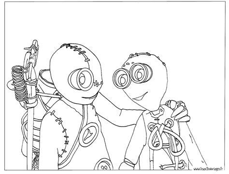 Coloriages Numero 9 Le Film De Tim Burton