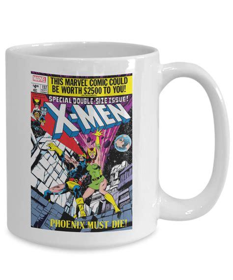 Marvel deadpool 3d ceramic mug standard. X-Men 137 coffee mug   Jean Grey Dies sacrifice Mug   Comic mug18   eBay