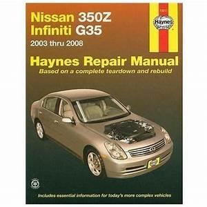 Infiniti G35 Repair Manual