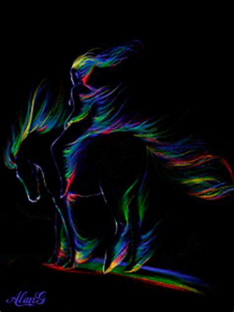 beautiful animated horse gifs   animations