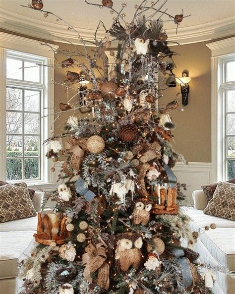 natural winter deluxe christmas tree decorating kit