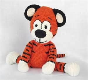 Free Crochet Amigurumi Tiger Pattern