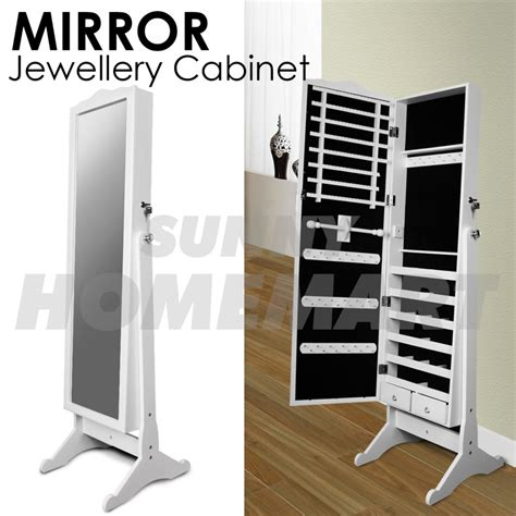 full length mirror jewellery cabinet 152cm euro style full length mirror jewellery cabinet white