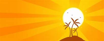 Summer Clipart Sky Orange Background Backgrounds Cliparts