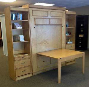 58 best images about murphy bed on pinterest murphy desk for Murphy bed desk folds