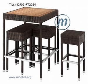 Barhocker Mit Tisch : wetterfeste tische gartentische stehtische outdoor ~ Whattoseeinmadrid.com Haus und Dekorationen