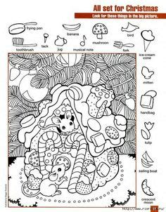 hidden picture worksheet  middle school  printable