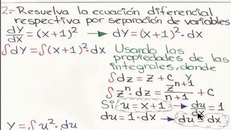 ejercicios de ecuaciones diferenciales problemas resueltos de ecuaciones diferenciales por