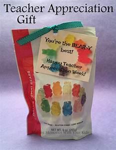 You're the Bear-y Best Teacher {Teacher Appreciation Gift