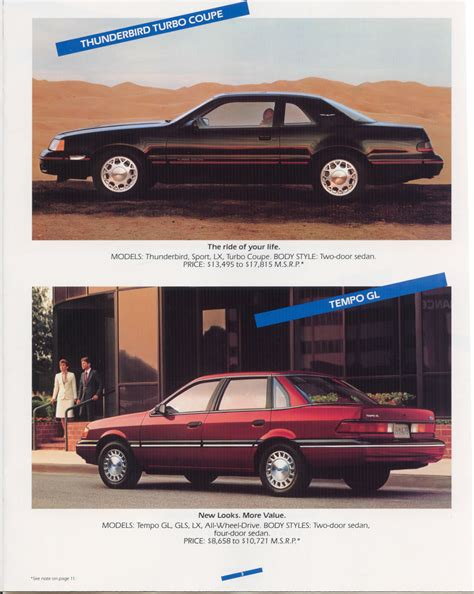 car service manuals pdf 1988 ford exp security system car brochures 1988 ford full line brochure 1988 ford all page2 jpg