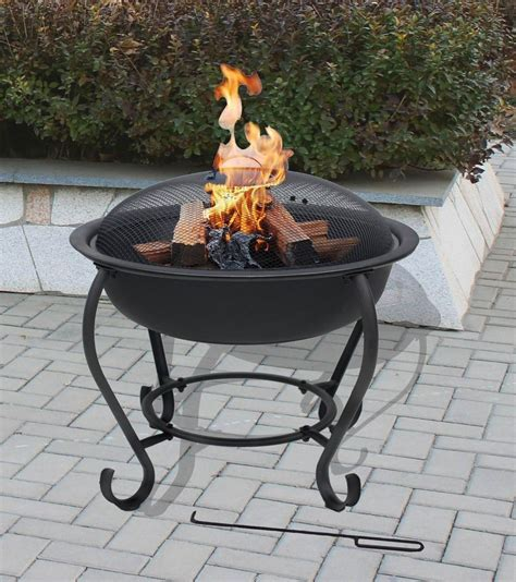 florence pit barbeque outdoor patio heating garden