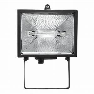 Brilliant ascot w halogen floodlight black sku