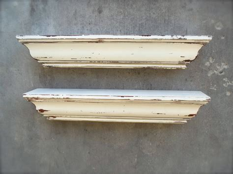 white shabby chic shelves beautiful off white shabby chic shelves