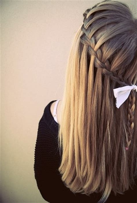 beautiful cascadewaterfall braid hairstyles gallery