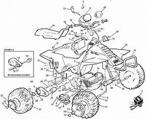Power Wheels Quad 350 Parts