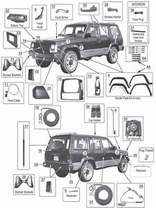 1999 Jeep Cherokee Parts Diagrams
